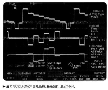 tds3000b型数字荧光示波器在视频安装和排障中的应用