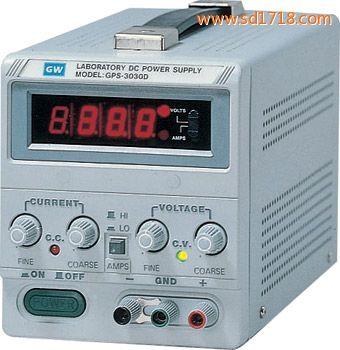 数字式单组输出直流电源供应器GPS-3030D