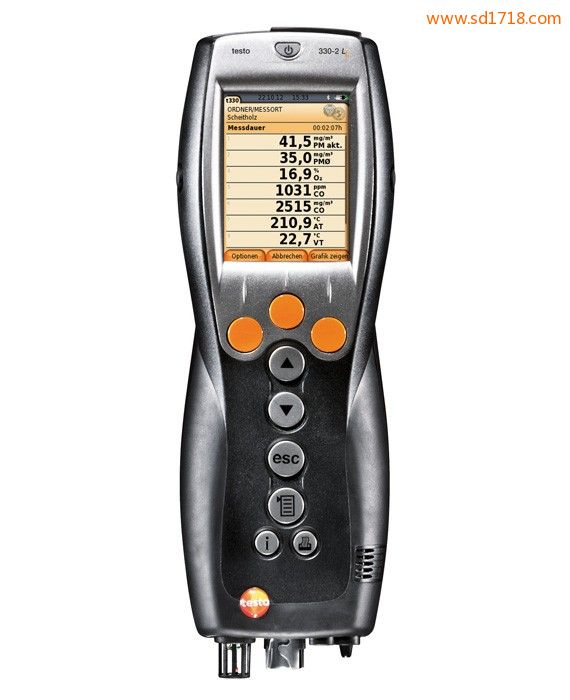 便携式烟气分析仪testo 330-1 LL